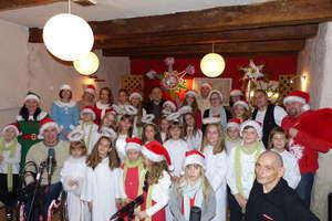 Dzieci ze Świętajna nagrały kolędę z braćmi Golec