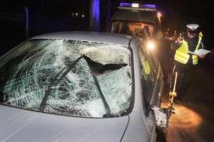 Kolejna tragedia na drodze. Kierowca BMW śmiertelnie potrącił pieszego