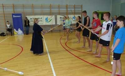 Kendo... tego jeszcze nie ćwiczyli