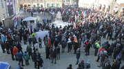 Sobotni protest KOD w Olsztynie. [ZDJĘCIA I FILM]