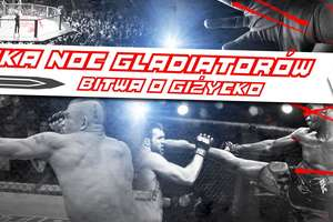 Plakat Mazurskiej Nocy Gladiatorów