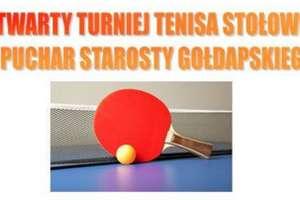 IV Otwarty Turniej Tenisa Stołowego w Gołdapi