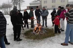 Zimowa integracja mieszkańców Mikołajek