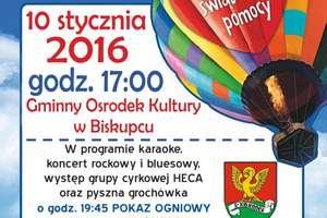 Gmina Biskupiec również gra z WOŚP