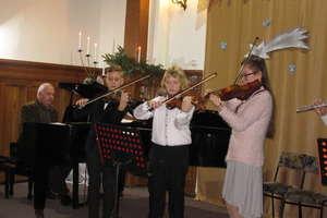 Zapraszamy na Koncert Kolęd i Pastorałek do szkoły muzycznej