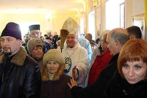 Poświęcenie nowej kaplicy w Mariupolu