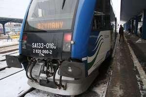 Więcej przystanków pociągu na trasie Olsztyn - lotnisko Szymany