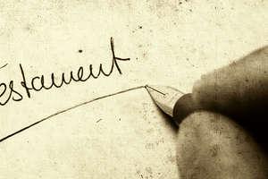Testament. Jak napisać i kto może napisać