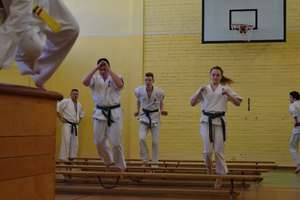 Karatecy trenują, bo w styczniu mają bardzo ważne zawody
