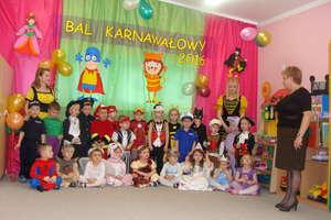 Bal karnawałowy w Przedszkolu Gminnym Nr 1 w Bartoszycach