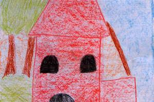 Dzieci malują swoje miasto