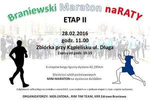 Braniewski Maraton na Raty. Kolejny start już 28 lutego