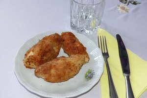 Roladki z piersi kurczaka z serem