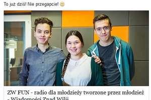 W Wilnie wystartowało polskie radio dla młodziezy