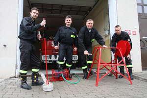 Pomysłowy strażak z Sząbruka wymyśla kolejne wynalazki