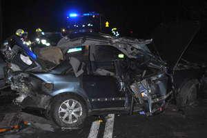 Wypadek na trasie Pisz-Orzysz. Zderzyły się trzy samochody