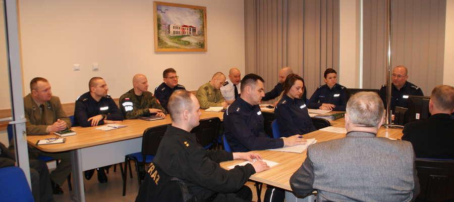Pierwsze konsultacje dotyczące mapy zagrożeń bezpieczeństwa odbyły się 5 lutego w Komendzie Powiatowej Policji w Braniewie