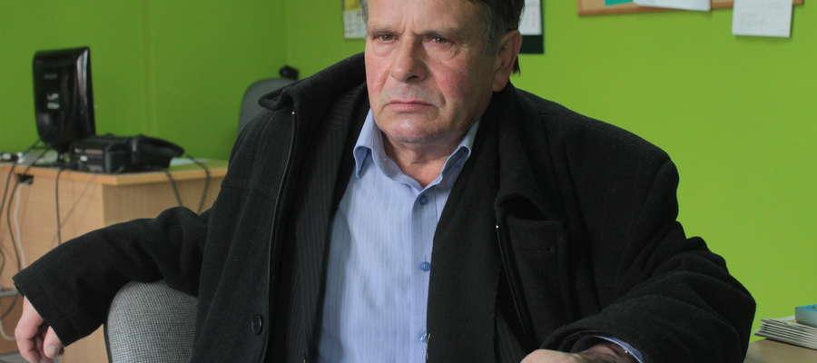 Kazimierz Szpura podczas rozmowy w naszej redakcji nie ukrywał, że czuje się podle.