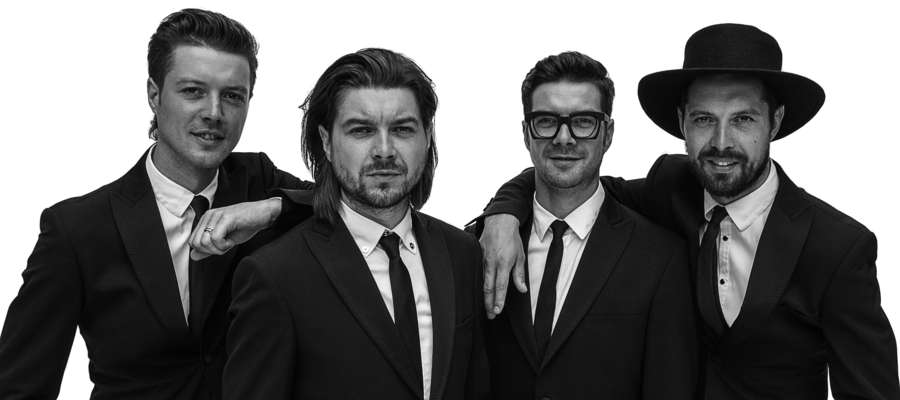 Marek, Tomasz, Maciek i Mateusz tworzą zespół Pectus