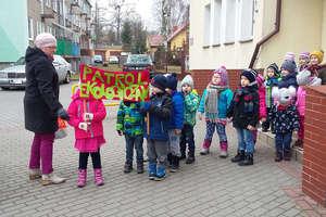 Patrol ekologiczny przedszkolaków z