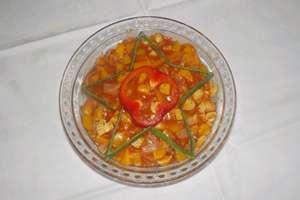 Kulinarna receptura na rybę z brzoskwiniami