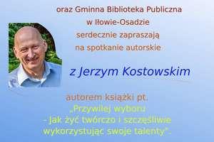 Spotkanie autorskie z Jerzym Kostowskim