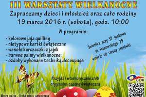 Przyjdź na Warsztaty Wielkanocne do Jonkowa