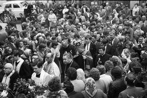 Uszanowali pamięć biskupa Juliana Gbura