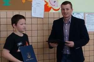 KOLEJNY SUKCES w Szkole Podstawowej w Napiwodzie