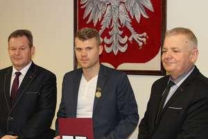 Piłkarz Roku uhonorowany medalem