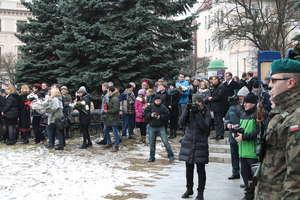 ZSEiI na uroczystości Narodowego Dnia Żołnierza Wyklętego w Olsztynie