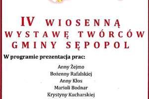 IV Wiosenna Wystawa Twórców Gminy Sępopol