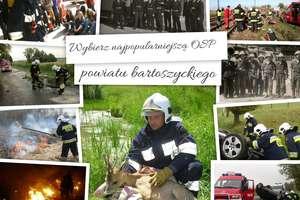 Wybieramy najpopularniejszą OSP powiatu bartoszyckiego