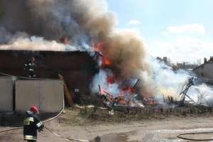 Dwaj 9-latkowie podpalili budynek zapałkami. Straty na 750 tysięcy złotych