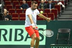 Zły początek Pucharu Davisa. Dwie porażki Polaków