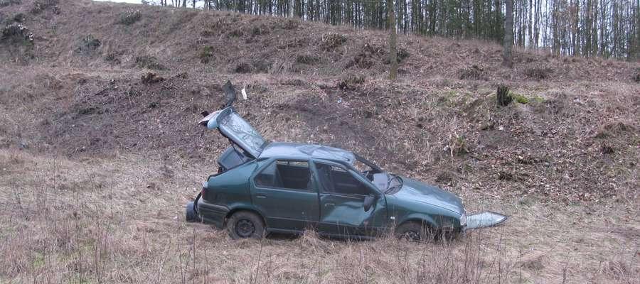 Renault zauważone przy drodze Lipowiec - Tereszewo