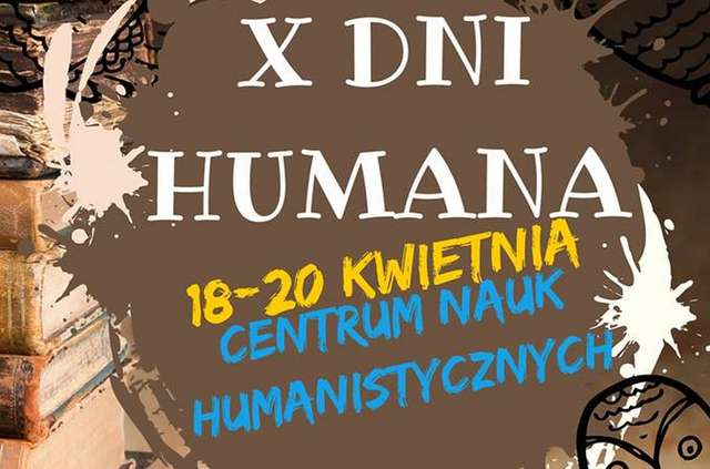 Zobacz program X Dni Humana! - full image