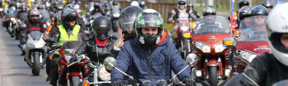Pokazy motocyklistów i parada ulicami Olsztyna