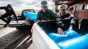 Wpuścili do jeziora Druzno ponad milion szczupaków
