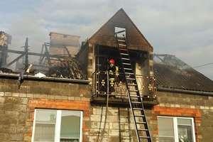 Palił się dom mieszkalny w Słupnicy