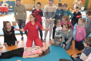 W szkole w Sątopach uczyli się ratować i mówili o zdrowiu