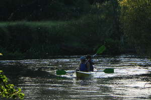 Spływ kajakowy ze sprzątaniem rzeki Drwęcy