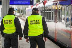 Przeszukają i pobiorą odciski palców. Projekt ustawy o strażnikach kolei trafił do konsultacji publicznych