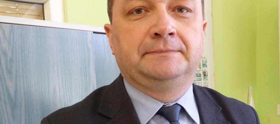 Mirosław Prytuła z elbląskiego oddziału Związku Ukraińców w Polsce