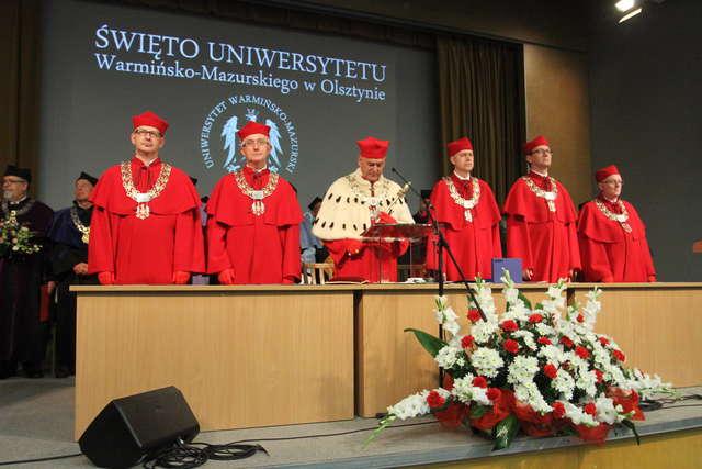 Święto UWM w Olsztynie i nowy doktor honoris causa - full image
