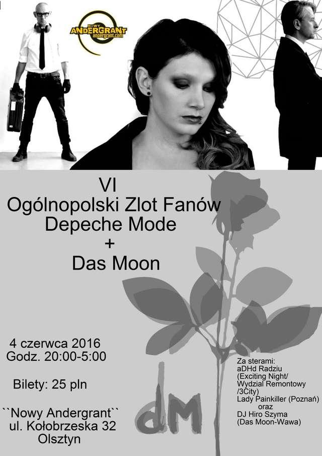 Ogólnopolski Zlot Fanów Depeche Mode w Olsztynie - full image