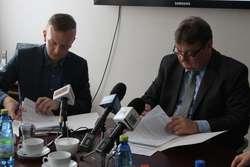 Prezydent Wróblewski podpisał z gdańską firmą ZNAK Sp. z o.o. umowę na wykonanie dokumentacji dla budowy wiaduktu na Zatorze