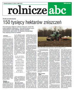 Rolnicze ABC - maj 2016
