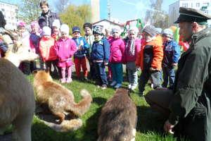 Spotkanie z przyrodą w Przedszkolu Publicznym nr 9