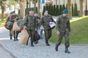 Żołnierze wcieleni do 20 Bartoszyckiej Brygady Zmechanizowanej